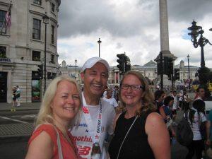 London 10k with Lynn & Rachael